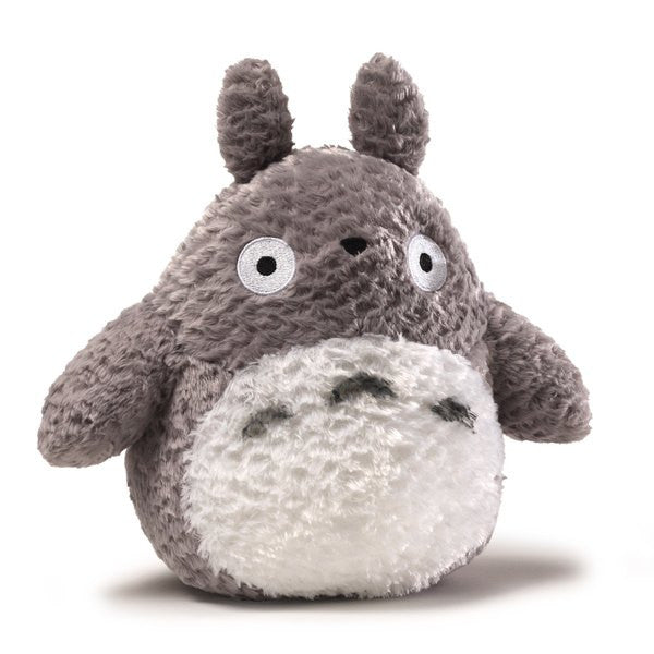 Fluffy Grey Totoro Plush - 9 Inches
