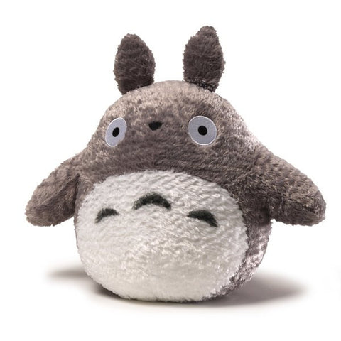Fluffy Grey Totoro Plush - 13 Inches