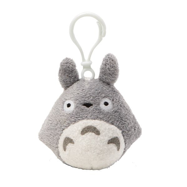 Gray Totoro Backpack Clip