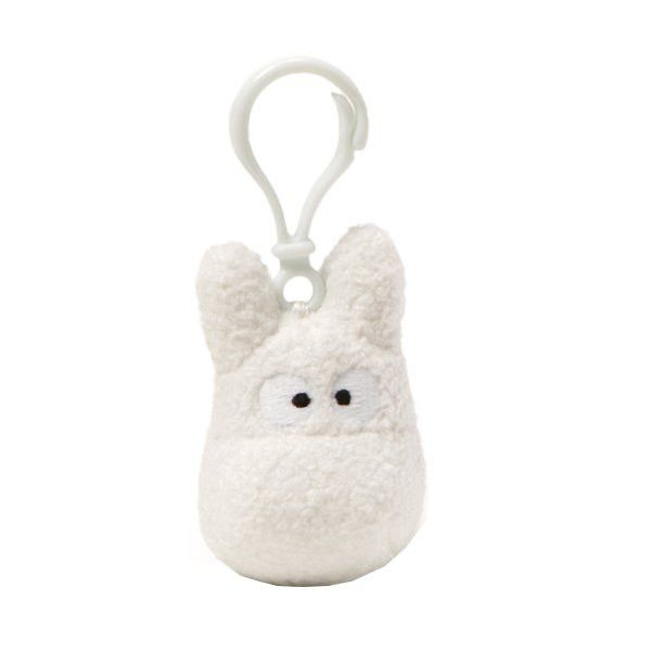 White Totoro Backpack Clip