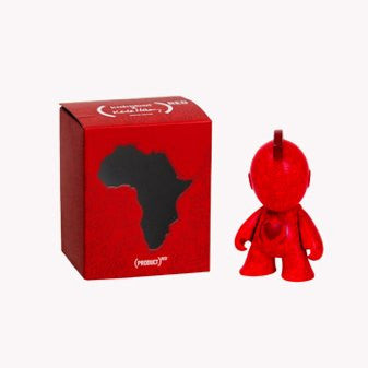 Kidrobot x (RED) Bot Mini Figure Art Toy 3inch