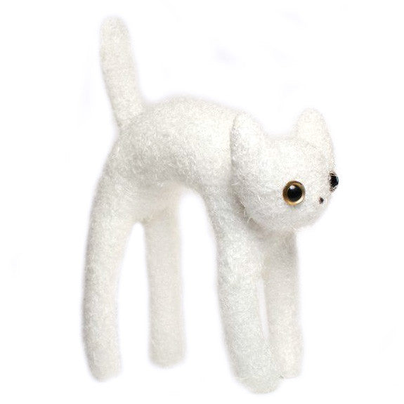 Objet Songe - White- Cat, Cat, Cat