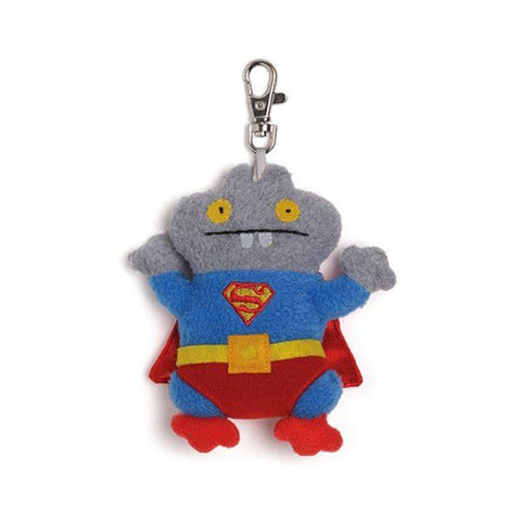 DC Comics Babo Superman Clip-on Uglydoll