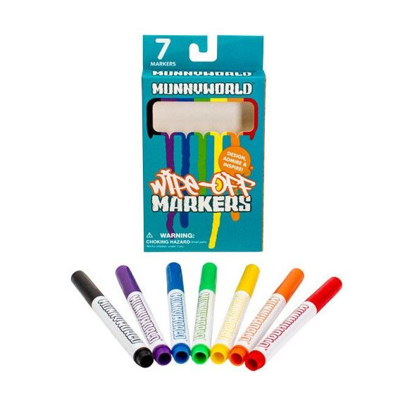 Munnyworld Markers - 7 colors