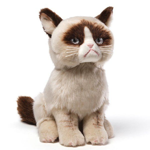 Grumpy Cat Plush - 9 Inches