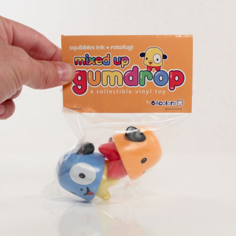 Mixed Up Gumdrop 2-Pack - Blue/Orange
