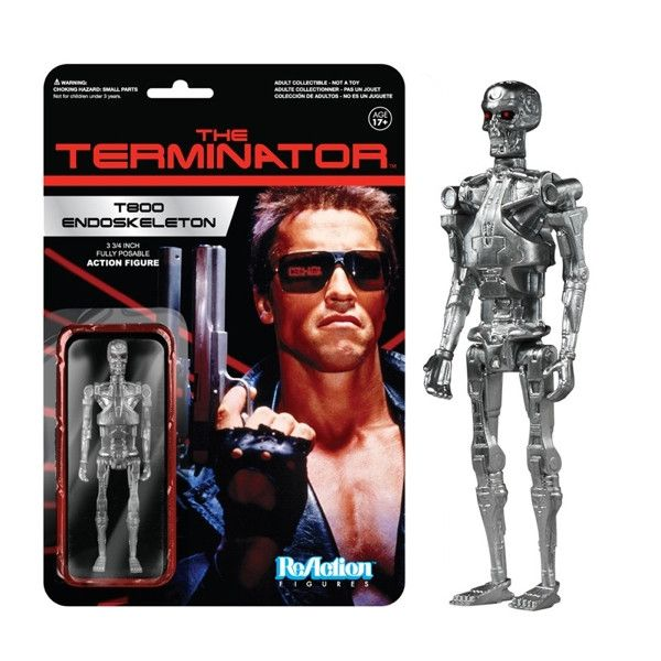 T-800 Endoskeleton - Terminator ReAction Figures
