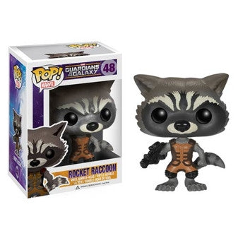 Rocket Raccoon - POP! Marvel - Guardians of the Galaxy