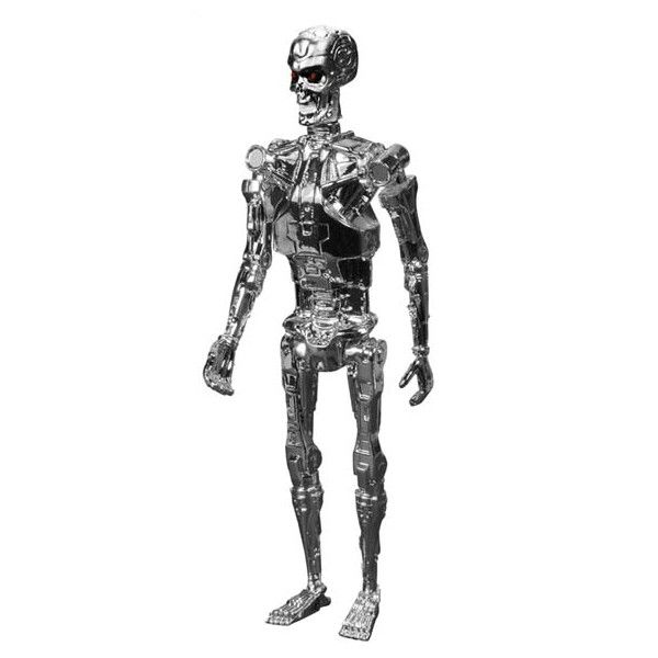 Chrome T800 - Terminator ReAction Figures