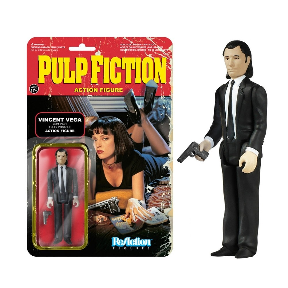 Vincent Vega - ReAction: Pulp Fiction