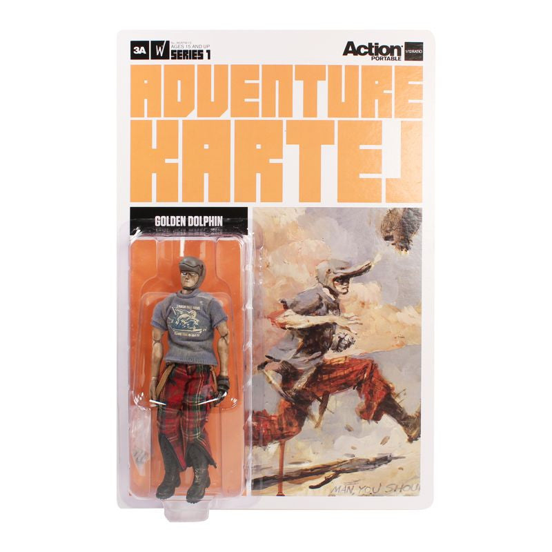 Golden Dolphin - 3A Action Portable Adventure Kartel