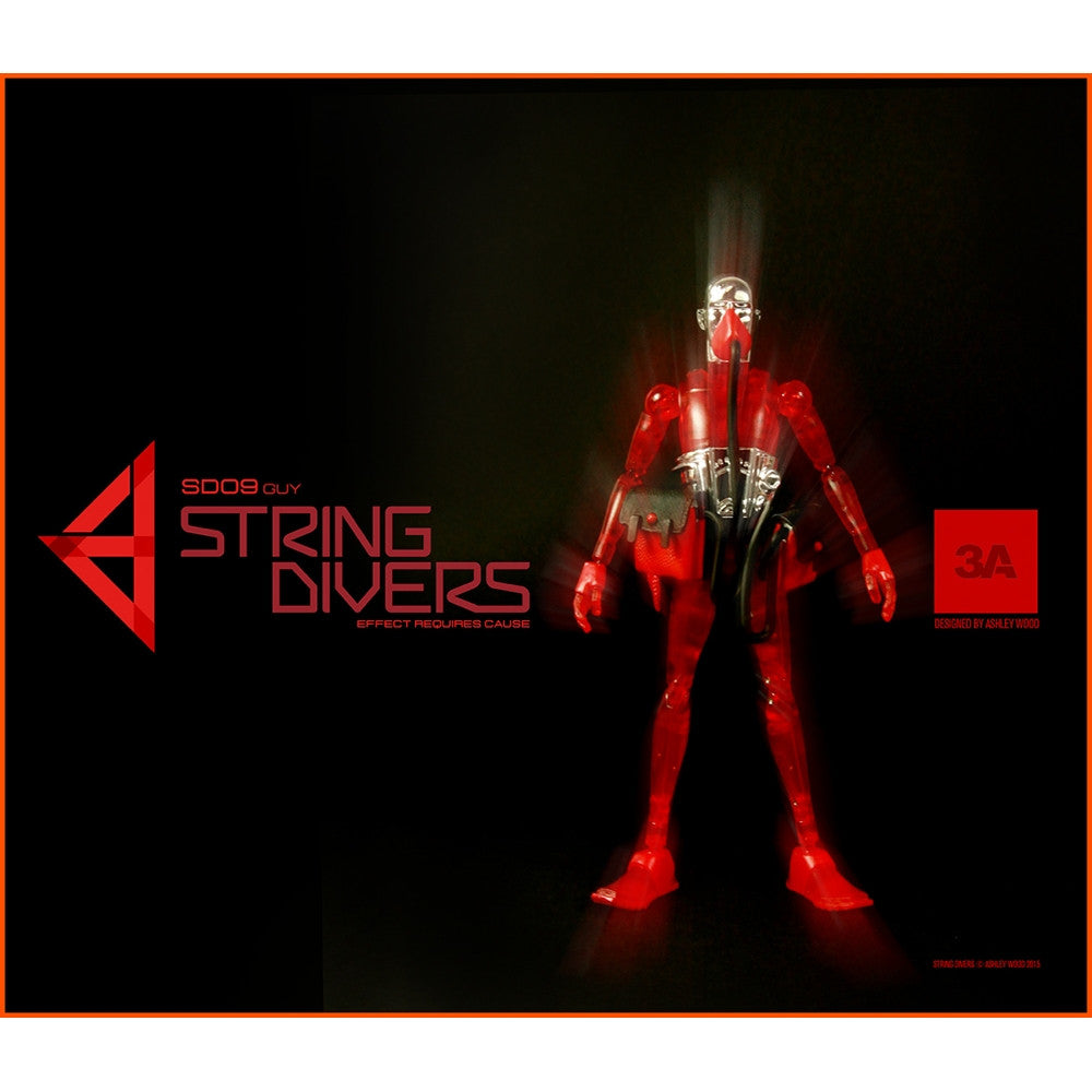 3A String Divers SD09 GUY (RED)