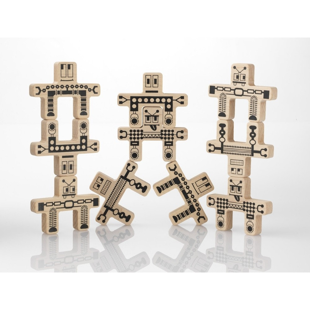 Whoa-Bots 8 Piece Stacking Set