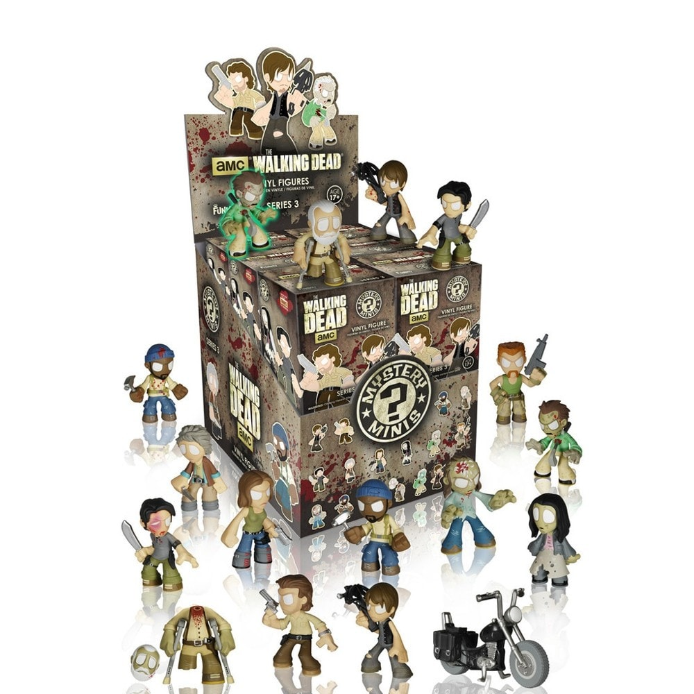Walking Dead Series 3 Mystery Minis - Single Blind Box