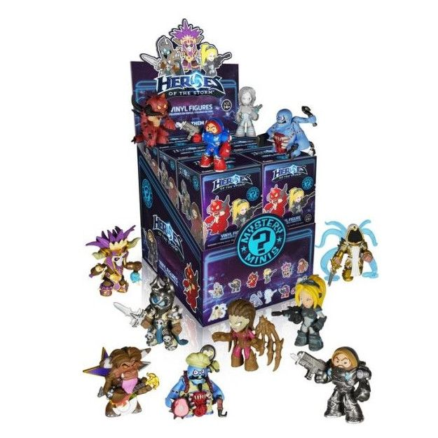 Heros of the Storm - Mystery Minis - Single Blind Box