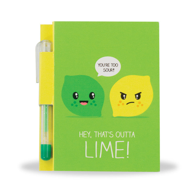 Sketch & Sniff - Note Pad - Lemon Lime