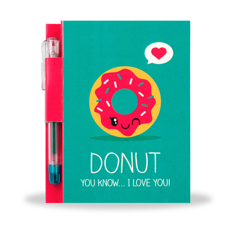 Sketch & Sniff - Note Pad - Donut