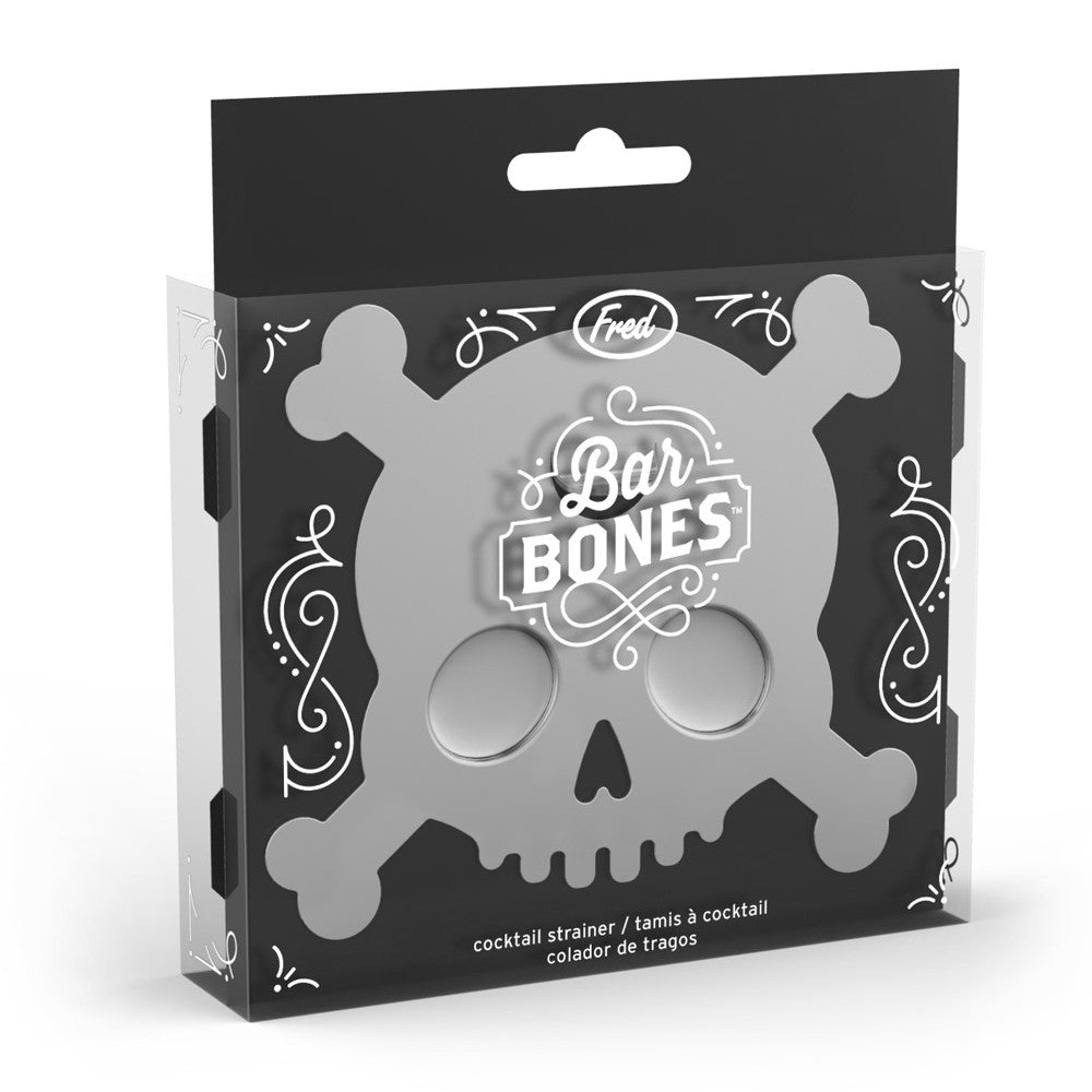 Skull Cocktail Strainer - Bar Bones
