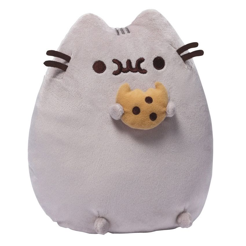 Pusheen with Cookie - 9.5 Inch Plush