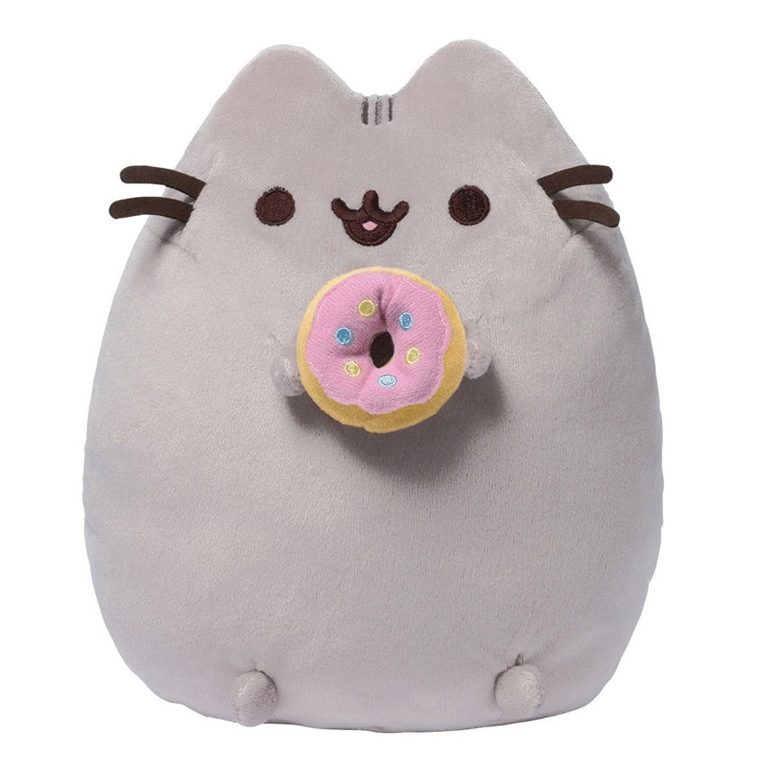 Pusheen with Donut - 9.5 Inch Plush