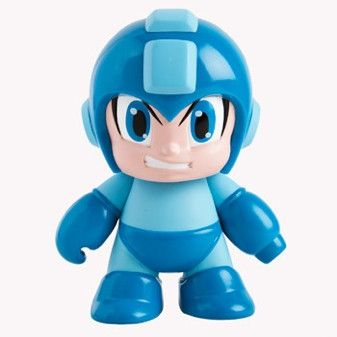 Blue Mega Man Vinyl Figure