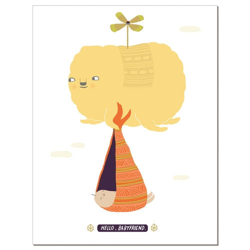 Babyfriend - Greeting Card