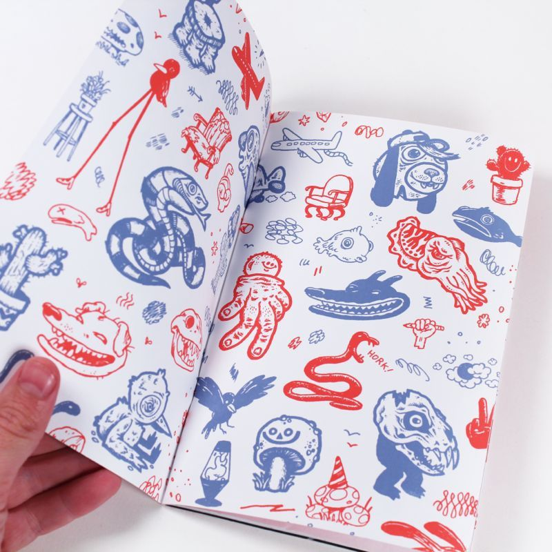 Big Whoop Zine by Travis Millard & Michael Sieben