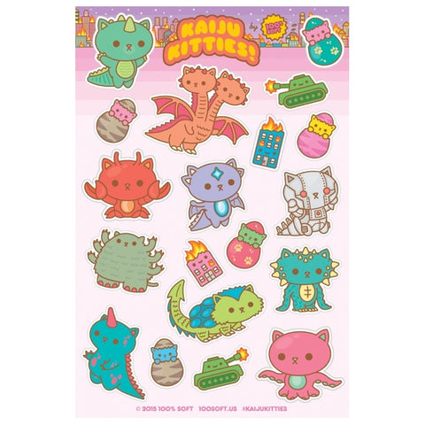 Kaiju Kitties Stickers
