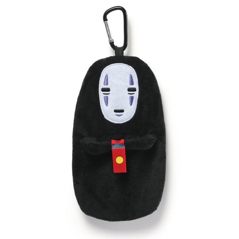 No Face Clip Pouch - Spirited Away Plush