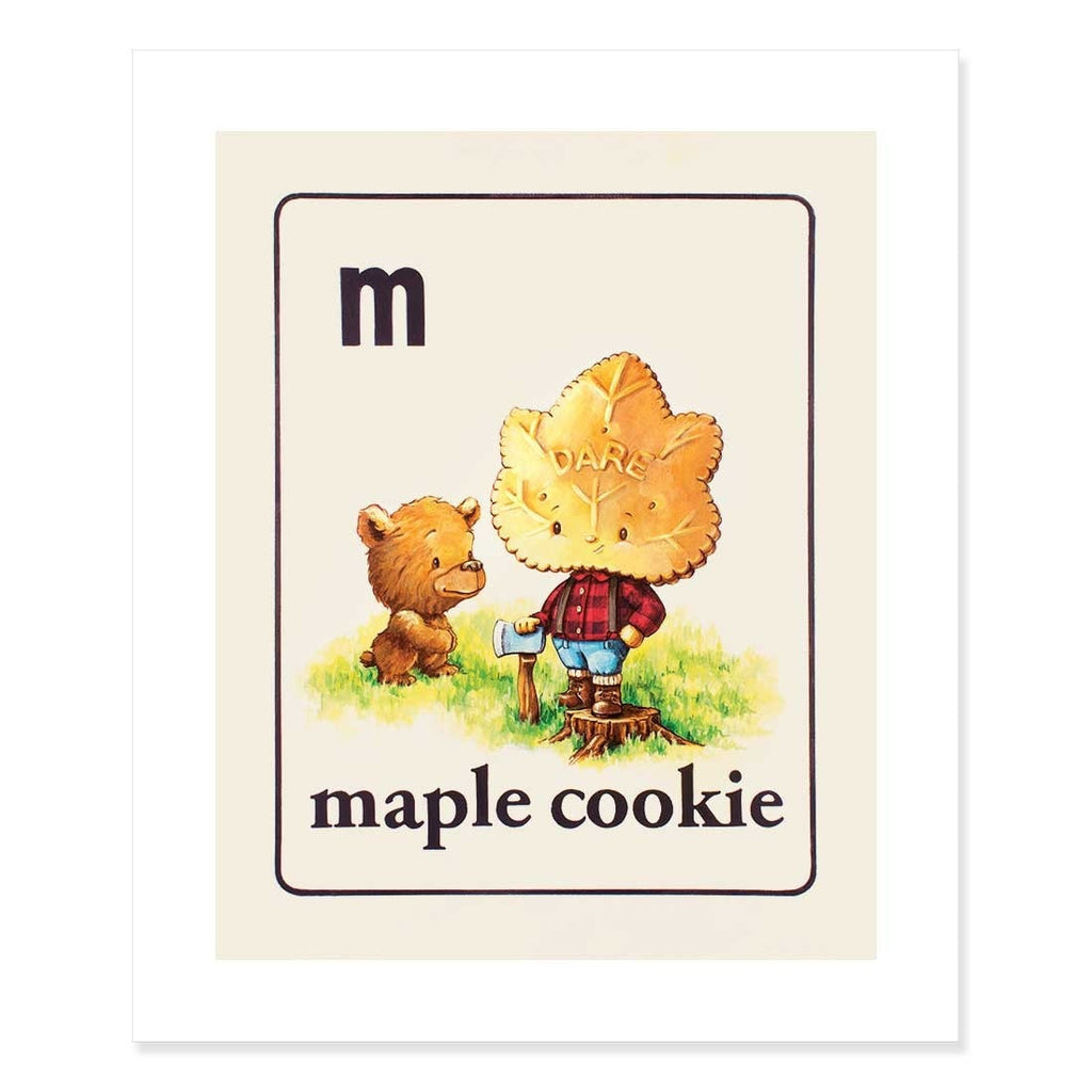 Maple Cookie Print by Cindy Scaife