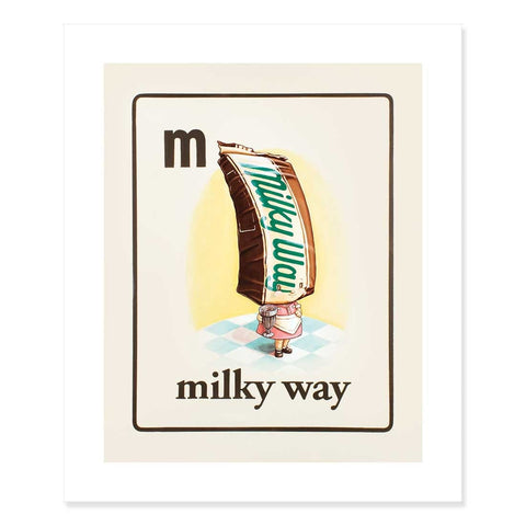 Milky Way Print by Cindy Scaife