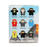Ninjatown Zipper Charm - Blind Box