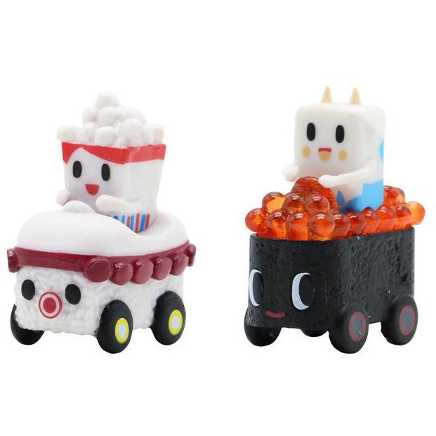 Sushi Cars Minis Series by tokidoki