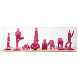 Yoga Joes Series 1 - Hot Pink