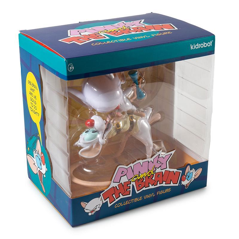 Pinky and the Brain Vinyl Figure