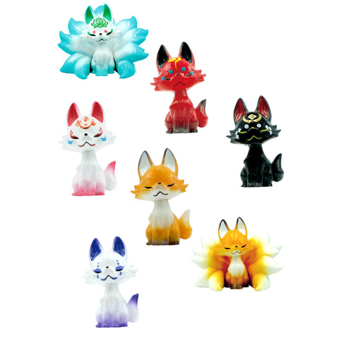 Tsubomi Fox Keychain Blind Box