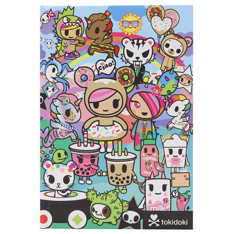 Rainbow Friends Notebook from Tokidoki