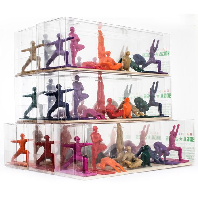 Yoga Joes Series 1 - Rainbow Joes