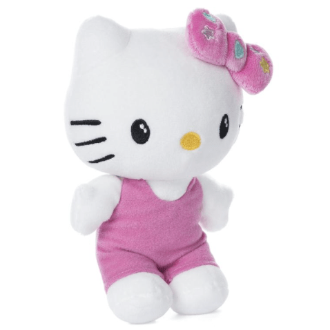 "Hello Kitty Pink Outfit 6"" Plush"