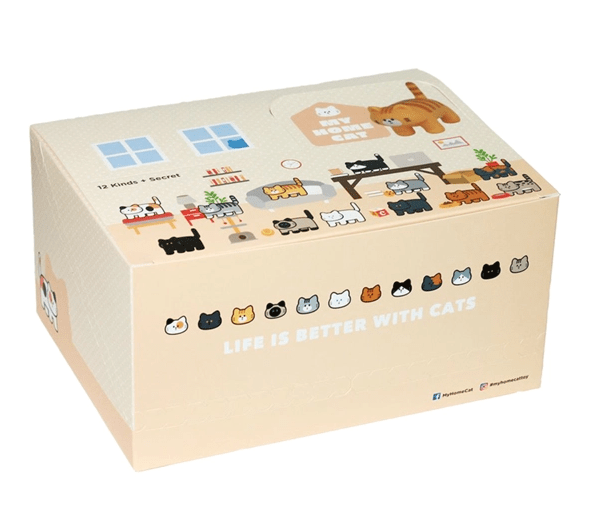 My Home Cat Series 1 by Bubi Au Yeung