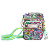 Tokidoki Flower Power Mini Crossbody Shoulder Bag