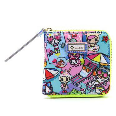Tokidoki Pool Party Small Zip-Around Wallet