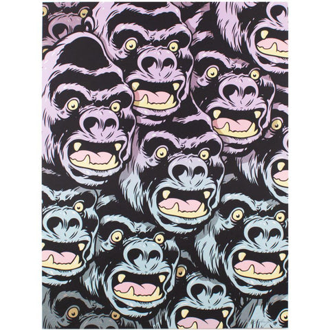 Gorilla Pattern Print by Steve Seeley