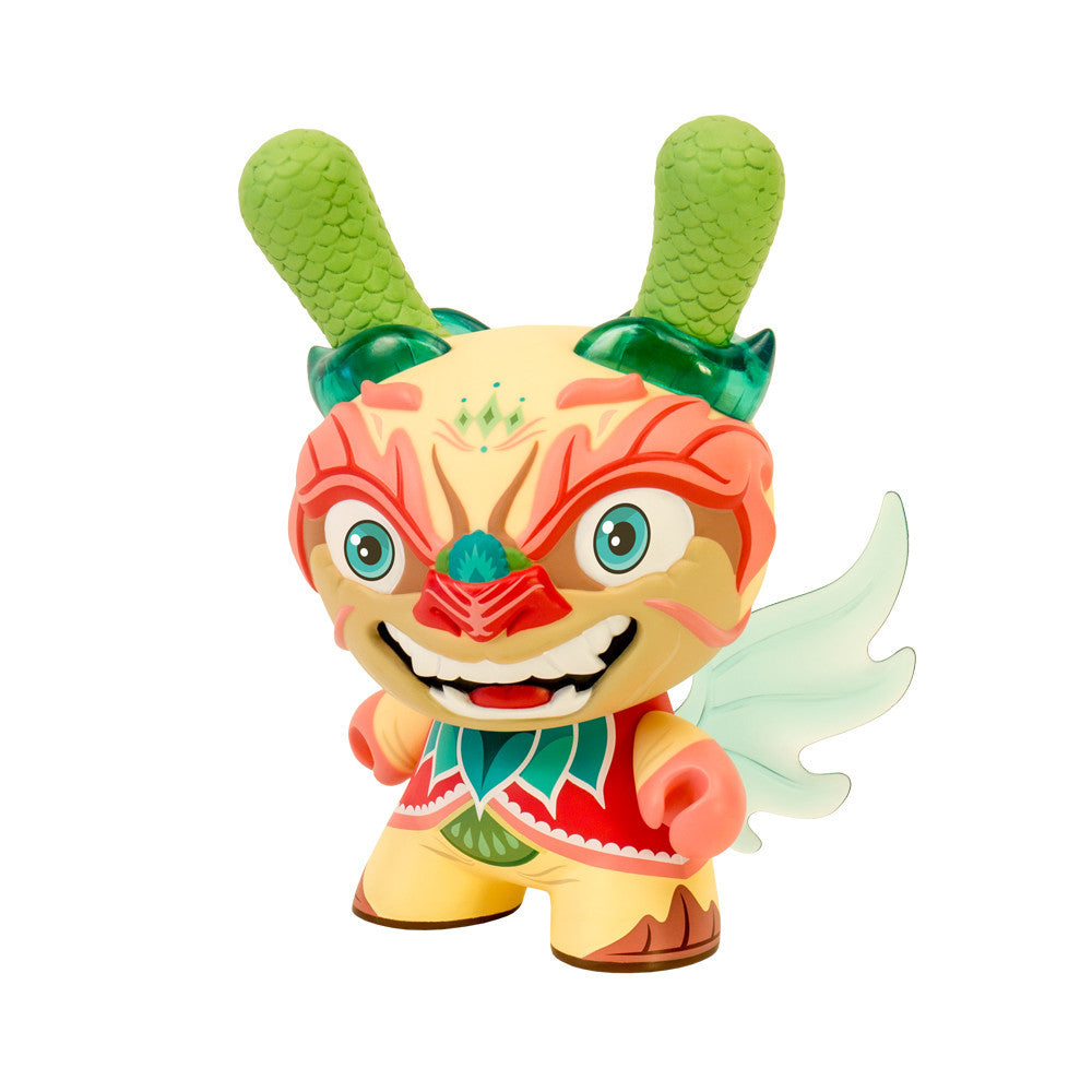 Imperial Lotus Dragon Dunny 8-Inch by Scott Tolleson