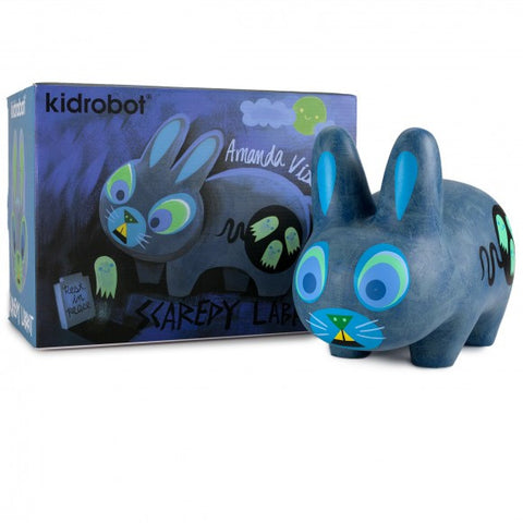 "Scaredy Labbit 10"" by Amanda Visell"