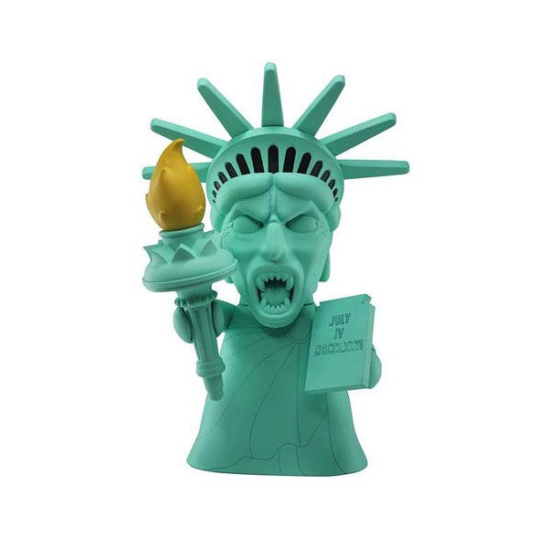 Doctor Who Titans Statue of Liberty Weeping Angel