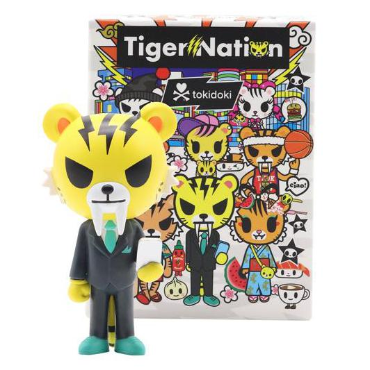 Tokidoki Tiger Nation Blind Box