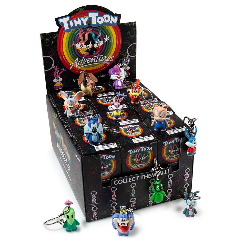 Tiny Toon Adventures & Animaniacs Vinyl Keychains