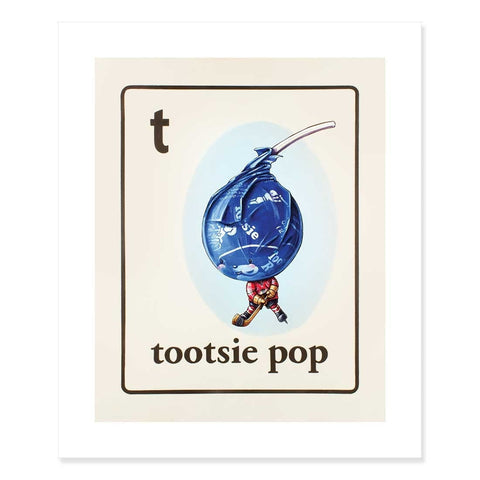 Tootsie Pop Print by Cindy Scaife