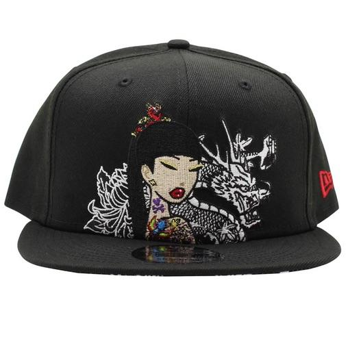 White Dragon Tokidoki Snapback Hat